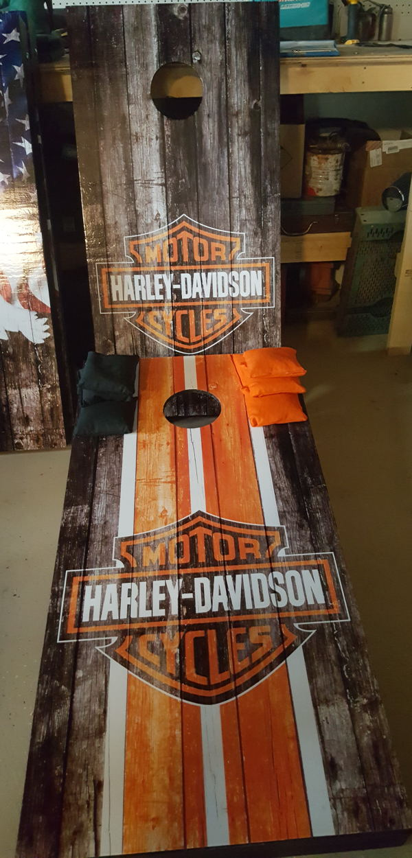 custom corn hole games in NM for sale